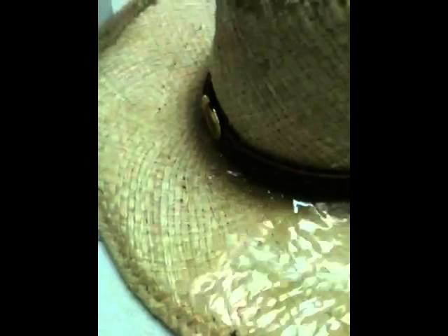 How to shape a cowboy hats