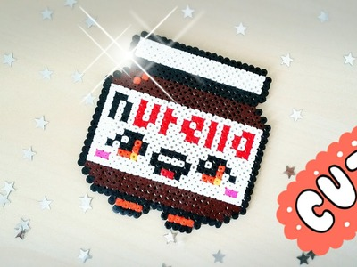 ❤ NUTELLA  ❤ DIY KAWAII CON HAMA BEADS - PYSSLA