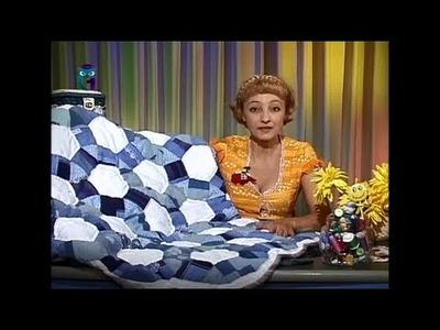 Sew a patchwork quilt