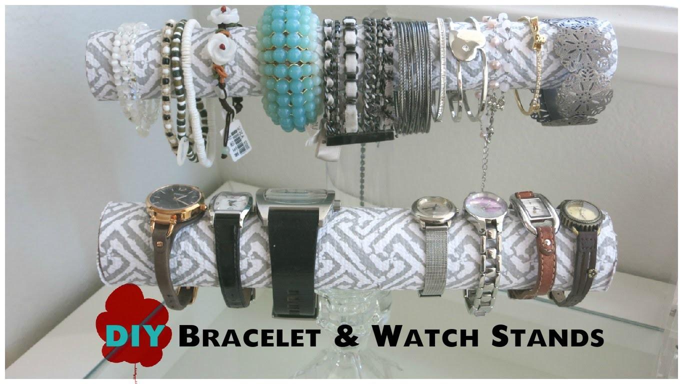 DIY Bracelet & Watch Stands
