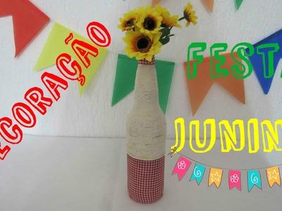 DIY - Decoraçao festa Junina