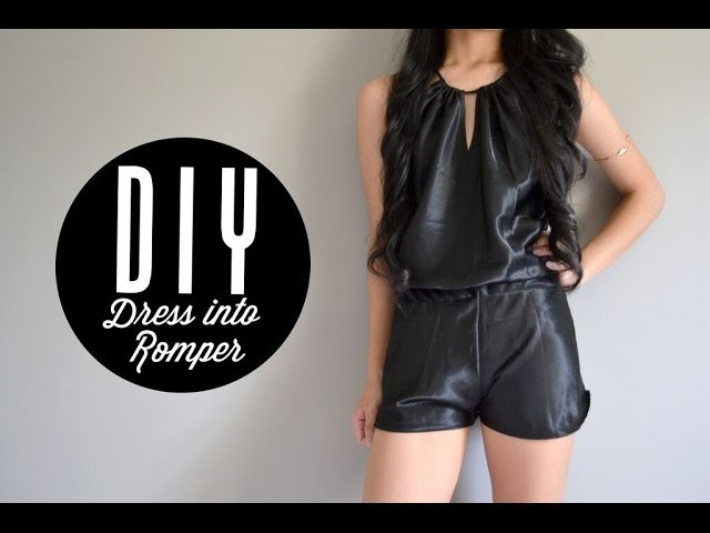 DIY Dress into Romper | Injoyy