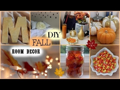 DIY Fall Room Decor: Cheap and Easy Ideas ♡