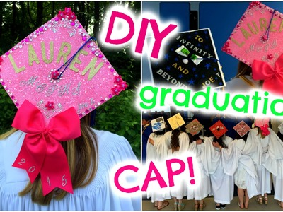 DIY Graduation Cap! ♡ How I Decorated My Cap