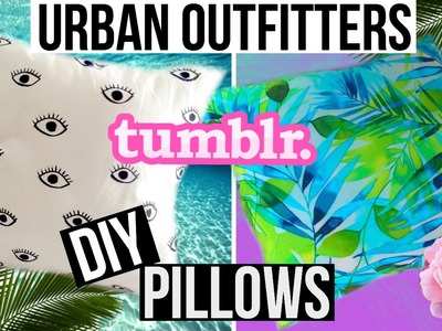 DIY Tropical Tumblr & Urban Outfitters Magical Thinking Embroidered Eye Pillow