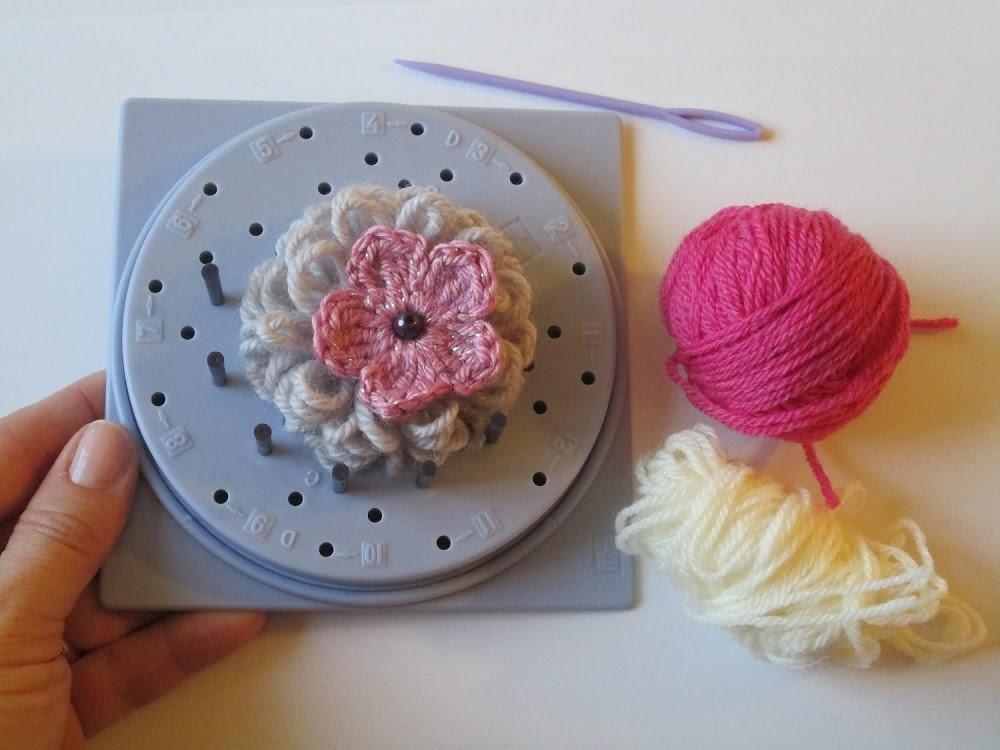 Fiore uncinetto Telaio Prym | Tutorial crochet flower with loom prym