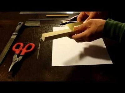 How To Make a Brass Folded Pen