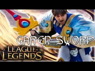 How to Make GAREN SWORD from League of Legends
