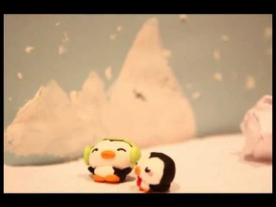 ◕‿◕Kawaii Friday 8- Penguin! Tutorial in Polymer Clay