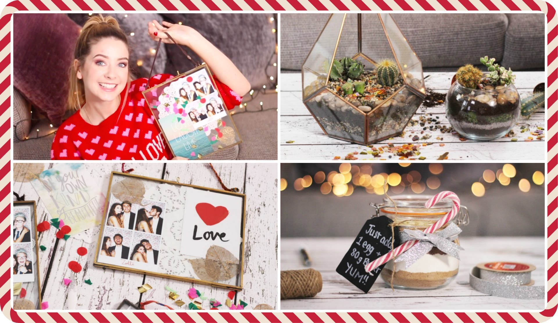 Last Minute DIY Christmas Gifts | Zoella