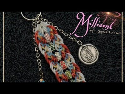 MILLICENT Hook Only bracelet tutorial