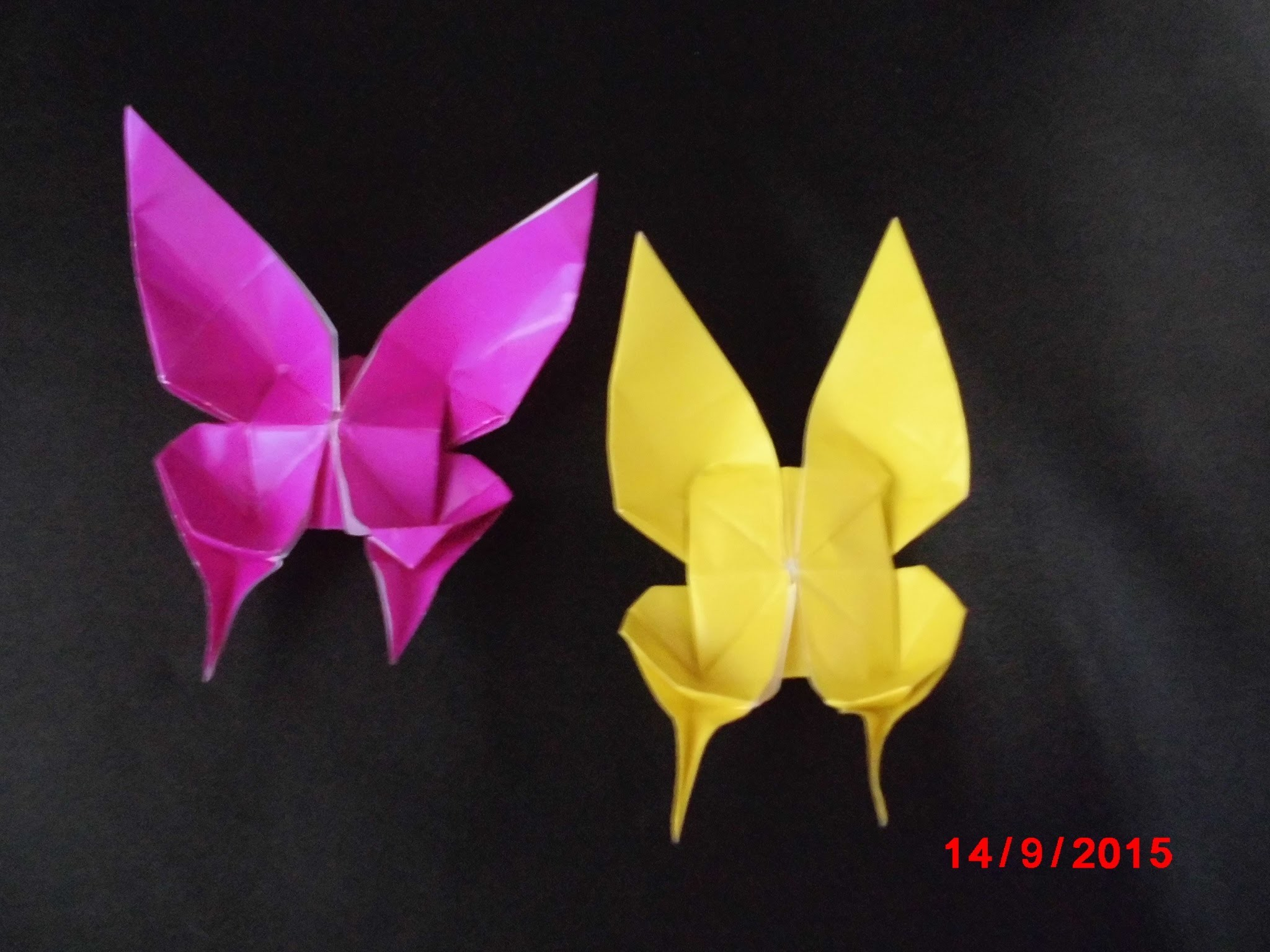 ORIGAMI PAPER | How To Make PAPER BUTTERFLY MARIPOSA | Origami Animals