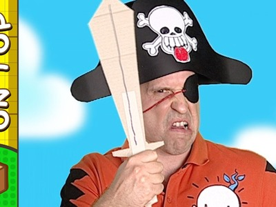 Paper Pirate Hat | Crafts Ideas For Kids | DIY on BoxYourSelf