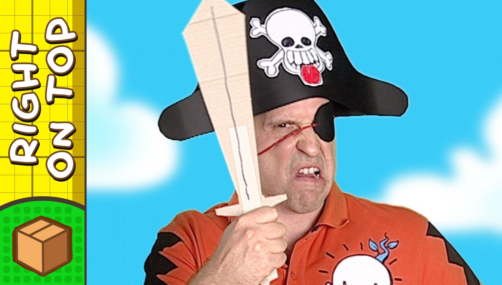Paper Pirate Hat   Crafts Ideas For Kids   DIY on BoxYourSelf