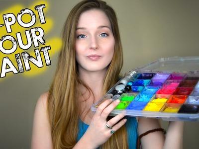 Quick Tip #4 | Re-Pot Face Paint DIY