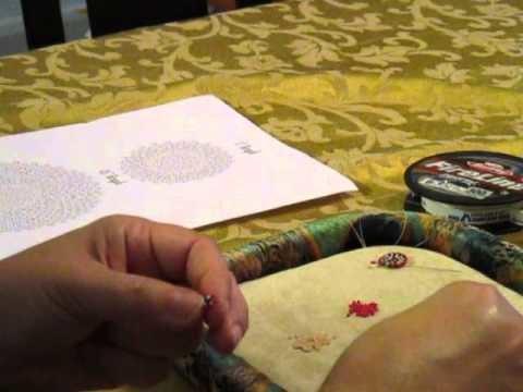 Round Flat Peyote tutorial