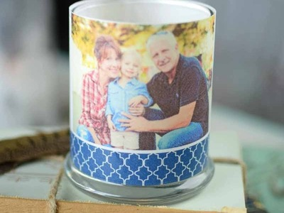 Vellum Candle Wraps - perfect for Mother's Day