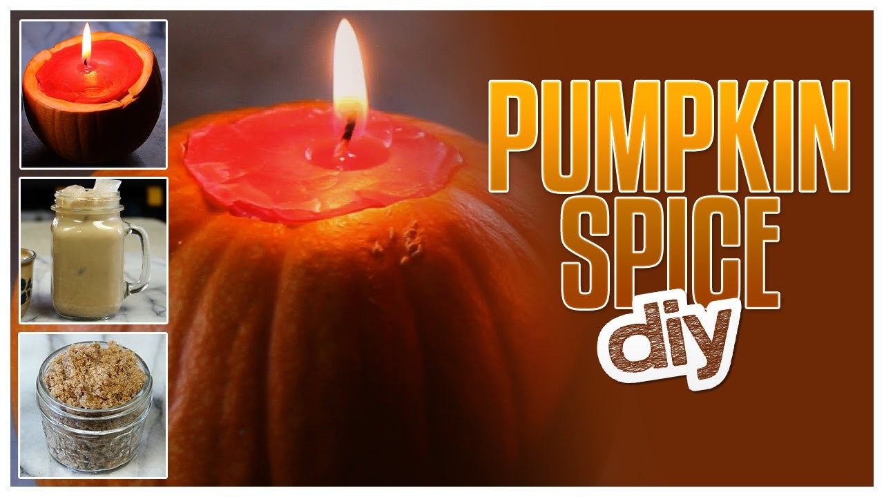 3 Pumpkin Spice DIYs - Do It, Gurl