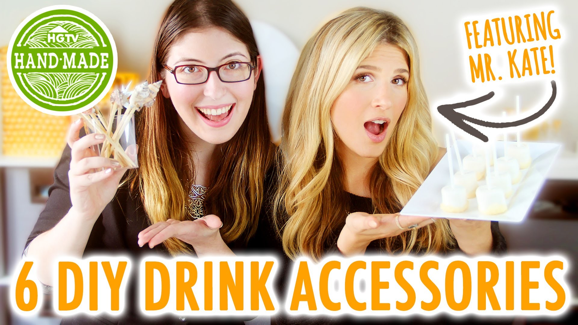 6 Drink Accessories for New Years feat. Mr. Kate - HGTV Handmade