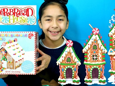 Christmas Gingerbread House|Christmas 2015| B2cutecupcakes