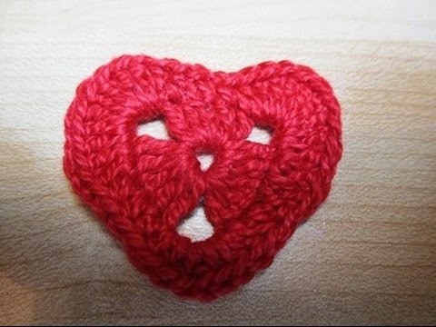 Crochet Uncinetto Cuore Tutorial