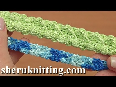 Crocheted  Romanian Cord  Tutorial 99  Romanian Point Lace
