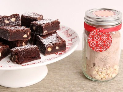 DIY Chewy Brownie Mix - Edible Gifts
