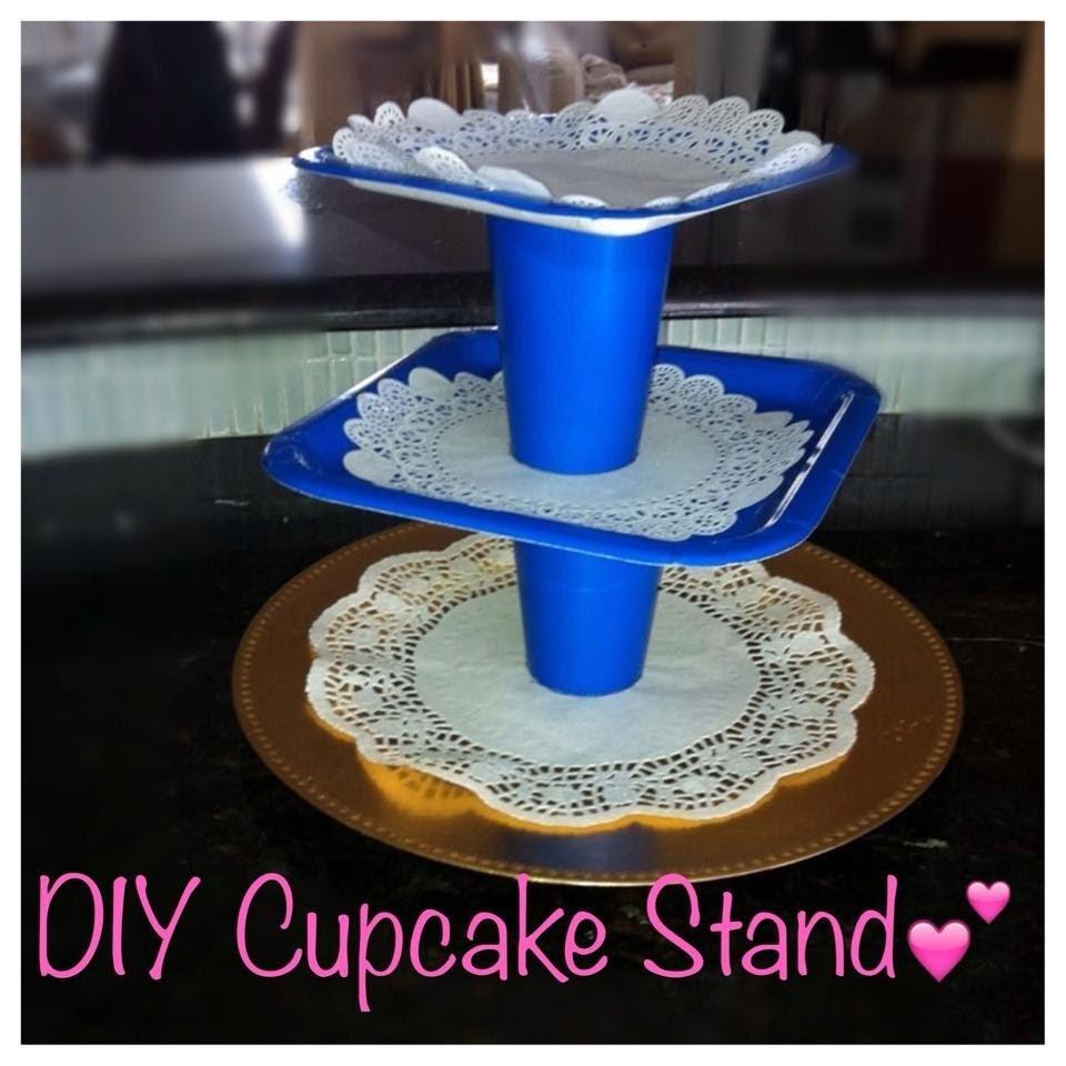 DIY Cupcake stand (UNDER 5$)