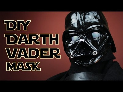 DIY Darth Vader Paper Mache  Mask