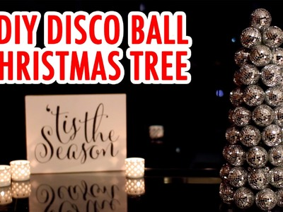 DIY Disco Ball Christmas Tree - HGTV Handmade