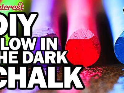 DIY GLOW CHALK, CORINNE VS PIN #17