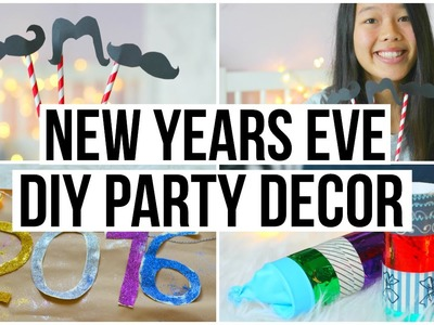 DIY New Year's Eve Party! Easy & Quick Decor!