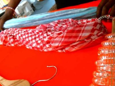 DIY Organize Your Scarves