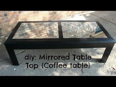 DIY: Refurbished Coffee Table