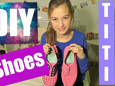 DIY Shoes | Pintrest with Titi