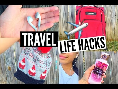 DIY Travel Life Hacks ☆ Packing, Clothes,  + Announcement. EliseLife