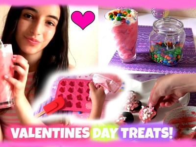 DIY valentines day treats!