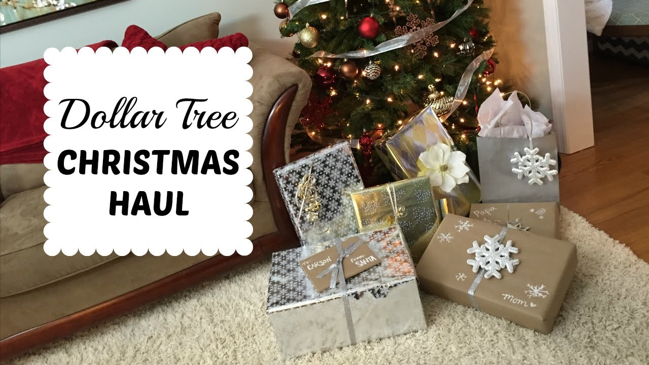 DOLLAR TREE CHIC CHRISTMAS | Wrapping Haul & More