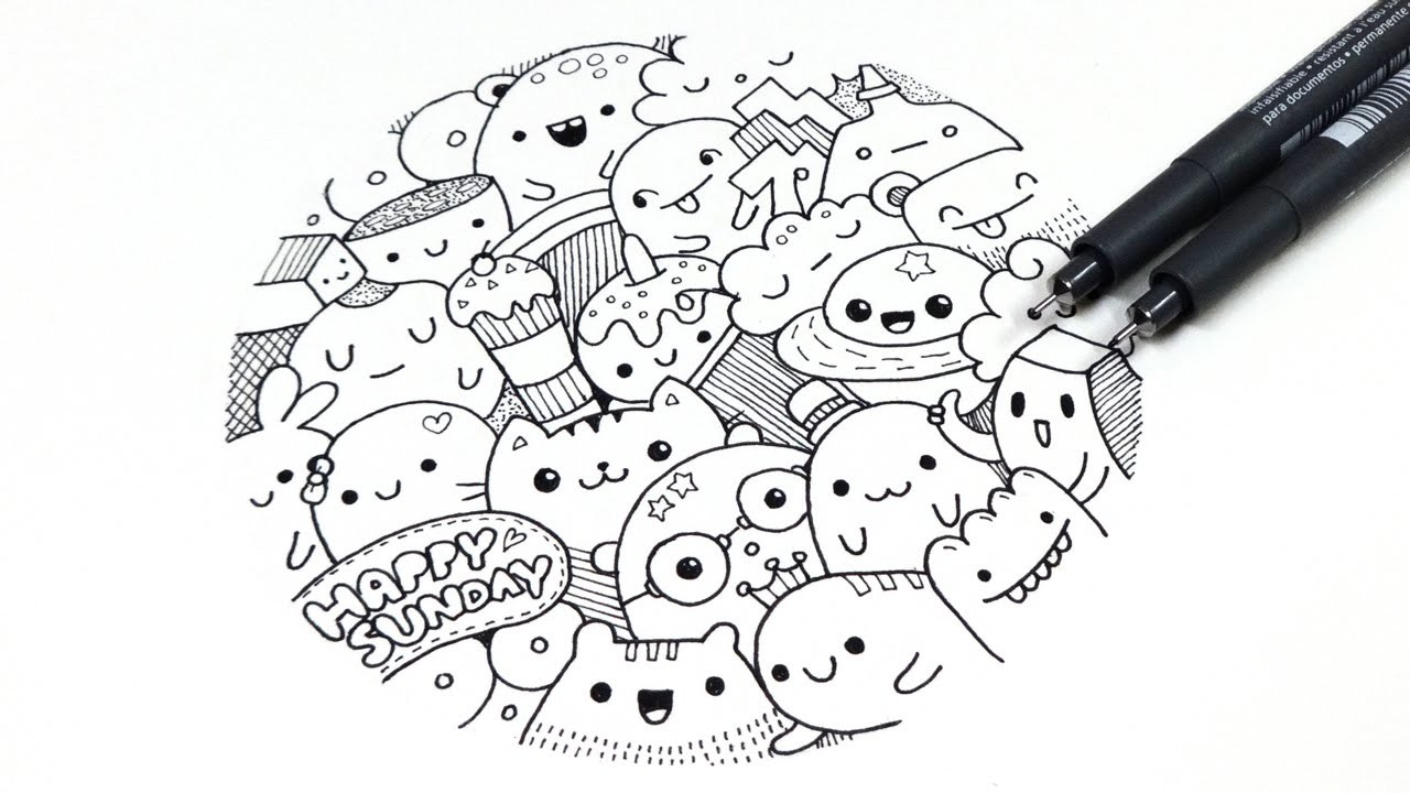 Doodle ~ Happy Sunday !