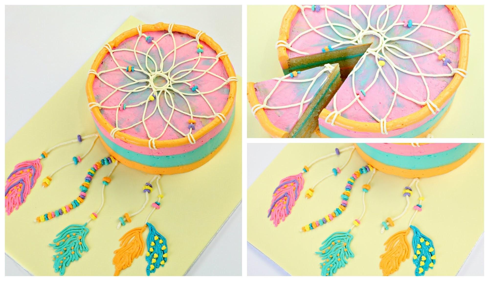 Dreamcatcher Swiss Meringue Buttercream Cake - CAKE STYLE