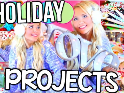 Easy DIY Holiday & Christmas Projects! Gift Ideas, Decorations & Treats!