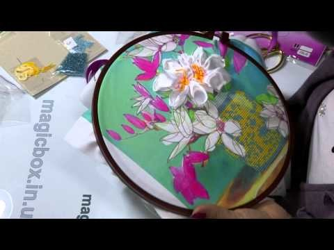 Embroidery ribbons, Lesson 2 HD