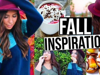 Fall Inspiration! DIY Treat, DIY Drink, Essentials & Outfit Idea!