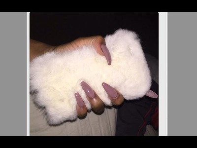 Fur Phone Case DIY !!