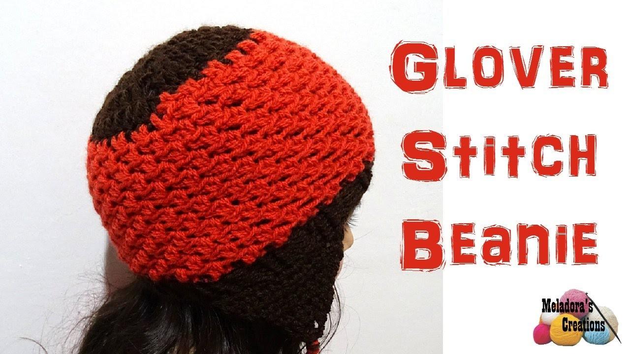 Glover Stitch Beanie - Left Handed  Crochet Tutorial