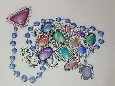 How I make Gems For My Zentangles