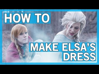 How to Make an Elsa Costume ft. Courtoon | Thingamavlogs