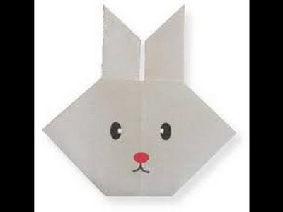 How To Make An Origami Rabbit Face