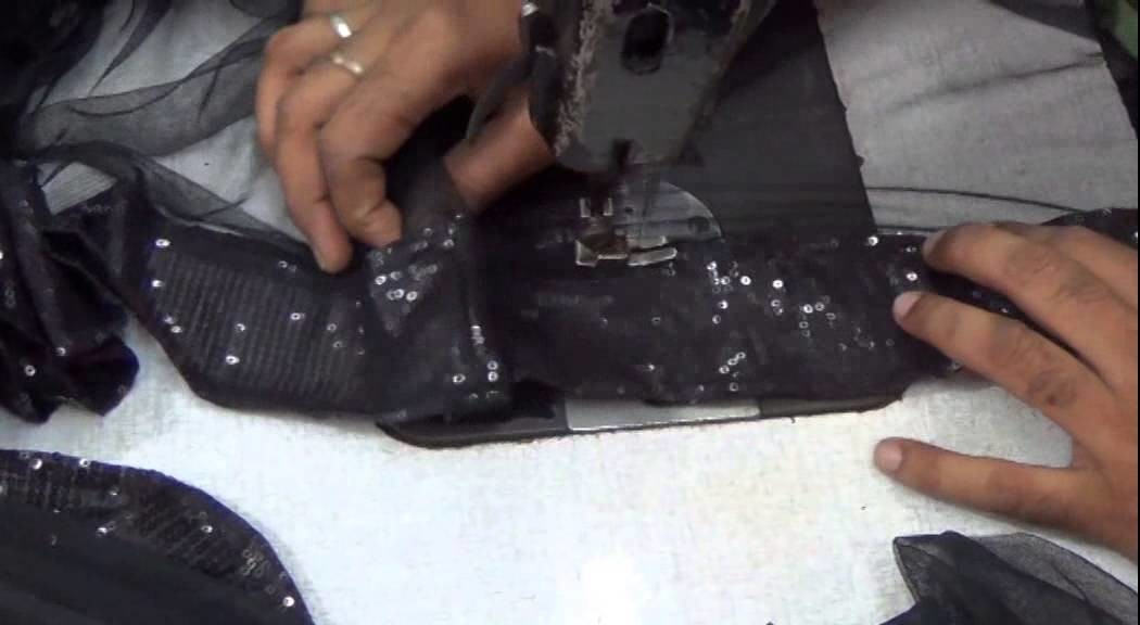 LEARN How Can You Make Your Own Designer Saree Lace:Sari Designs