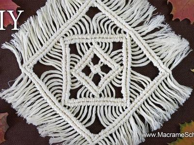 Macrame Tablecloth Tutorial | Table Mats & Table Decoration
